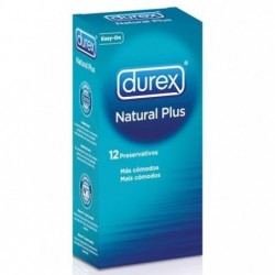 DUREX NATURAL PLUS 12...