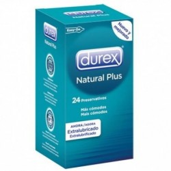 DUREX NATURAL PLUS 24...