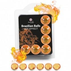 SET 6 BRAZILIAN BALLS...