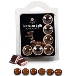 SET 6 BRAZILIANS BALLS...