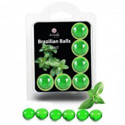SET 6 BRAZILIANS BALLS MENTA