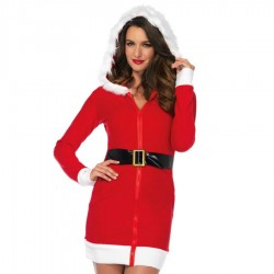 LEG AVENUE SANTA CLAUS SEXY DRESS TALLA S